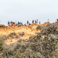 Red Butte is a popular stop on the way to Razor Point.- Razor Point Trail