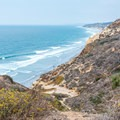 View of the Pacific Ocean from Razor Point.- Razor Point Trail