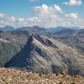 Piz Alv seen from Sass Queder.- Diavolezza, Munt Pers + Sass Queder Hike
