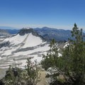Snow lingers well into summer in the Eagle Cap Wilderness.- Eagle Cap