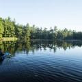 Enjoying the Ludington Canoe Trail.- Ludington State Park