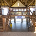 The Beach House and visitor center.- Ludington State Park