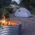 Backcountry camping is available in the Jack Pines Campground.- Ludington State Park