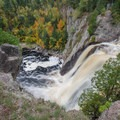 High Falls of the Baptism River.- Tettegouche State Park