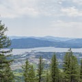 View of the Long Bridge in Sandpoint. - Mickinnick Trail