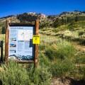 Begin at the Sawtooth Trailhead.- Crystal Lake