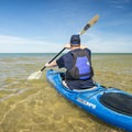 Lake Michigan offers endless paddling opportunities. - Lake Michigan Paddling: Ludington State Park Beach House to Big Sable Point Lighthouse