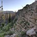 Views from the Wall Lake Loop.- Wall Lake Loop