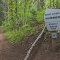Heading up the Terraces Trail of Millcreek Canyon.- Mount Olympus Wilderness