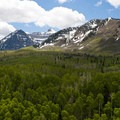 A view of the Mount Timpanogos Wilderness Area.- Mount Timpanogos Wilderness
