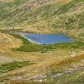 Close up of Kite Lake.- Kite Lake