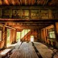 Inside of the mine building.- Kite Lake