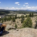 The view from the upper overlook on the ridge.- Geologic Trail