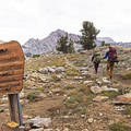 Entering the Ruby Mountain Wilderness by way of Lamoille Canyon and the Liberty Lake Trail.- Ruby Mountains Wilderness