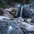 Spring Creek falls 20 feet just before flowing into the South Yuba River.- Spring Creek Trail