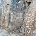 Hohokam Petroglyphs.- Hieroglyphic Trail