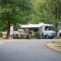 There are some pull-through sites, and most sites are able to fit large RVs.- Valley of the Rogue State Park Campground
