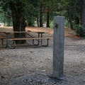 Water faucets are located throughout camping loops.- Valley of the Rogue State Park Campground