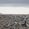 Walking onto the beach.- Diamond Beach
