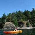 A sea kayak is the recommended mode of travel. Water can be hard to come by, so you will have to cart lots of it with you. - Lasqueti Islands Coast Paddle