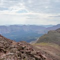 The High Uintas from 13,039 feet.- NW Wasatch Peak / Wasatch Benchmark
