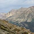 The rugged High Uintas.- NW Wasatch Peak / Wasatch Benchmark
