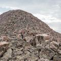 Rocky Uinta ridgeline.- NW Wasatch Peak / Wasatch Benchmark