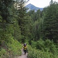 Kessler Peak in the background.- Mill A Basin Backpacking