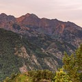 Purple mountain majesty.- Mill A Basin Backpacking