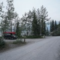 Example of the campsite layout.- Strawberry Flats Campground