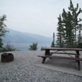 Lakeshore site. - Strawberry Flats Campground