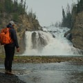 View of Smith River Falls.- Smith River Falls