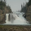 Smith River Falls is a great spot for Arctic grayling and bull trout fishing.- Smith River Falls