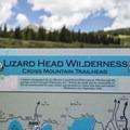 Cross Mountain Trailhead near Lizard Head Pass.- Cross Mountain Trail