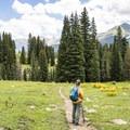 Beautiful views all along the trail.- Cross Mountain Trail