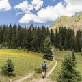 Cross Mountain Trail.- Cross Mountain Trail