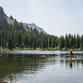 Great lakes for paddling.- Alta Lakes Recreation Area