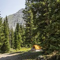 Campsites are free at Alta Lakes.- Alta Lakes Recreation Area