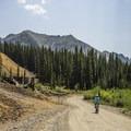 Alta Lakes Road.- Alta Lakes Road