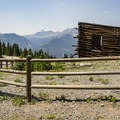 Structure at Alta Lakes townsite.- Alta Lakes Ghost Town