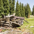 Trails are accessible from the town site.- Alta Lakes Ghost Town