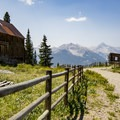 It is a great bike ride up to the ghost town.- Alta Lakes Ghost Town