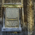 History in the area.- Alta Lakes Ghost Town