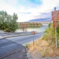 The recreation area's dual boat ramp is located beside Westside Campground.- Westside Campground