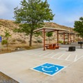 Westside Campground has two designated ADA-friendly sites.- Westside Campground
