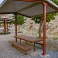 Campsites at Westside Campground.- Westside Campground