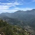 Desert views.- Pacific Crest Trail: California Section B