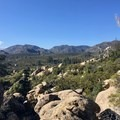Back on the PCT. The views only get better as you gain elevation heading towards Idyllwild.- Pacific Crest Trail: California Section B