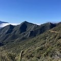 Mountain views from the PCT.- Pacific Crest Trail: California Section B
