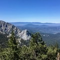 Looking back down upon Lily Rock.- Pacific Crest Trail: California Section B